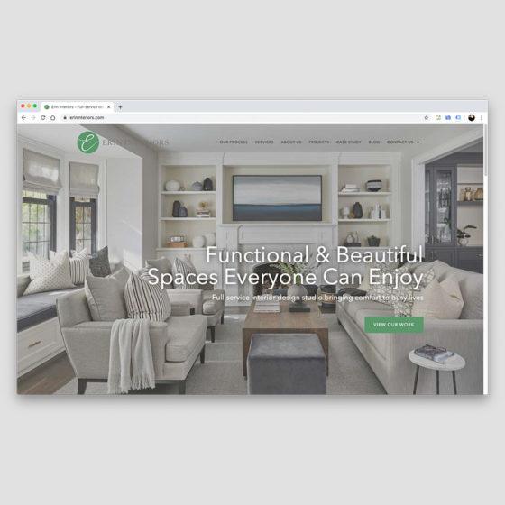 Erin Interiors - Full-service interior design studio